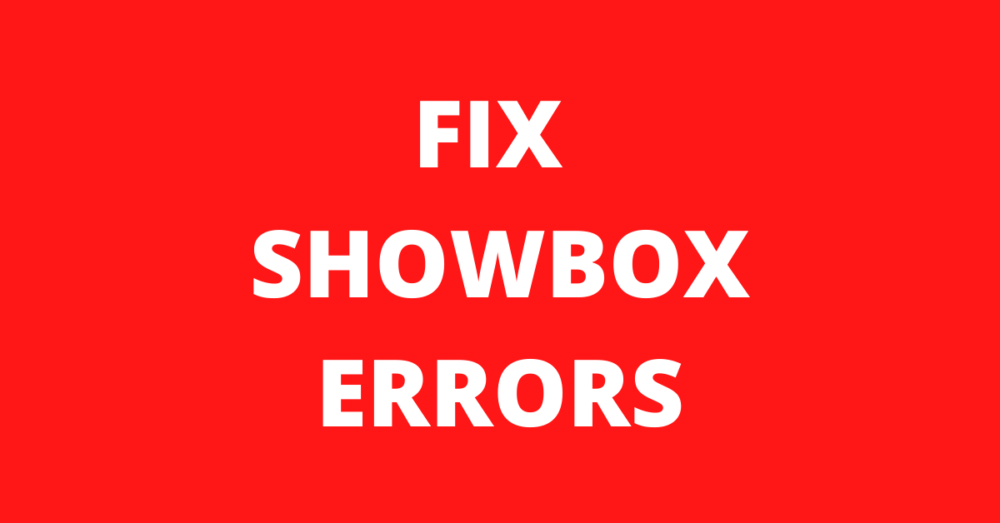 Read more about the article How to Fix Showbox Error Video not Available try Another Server'