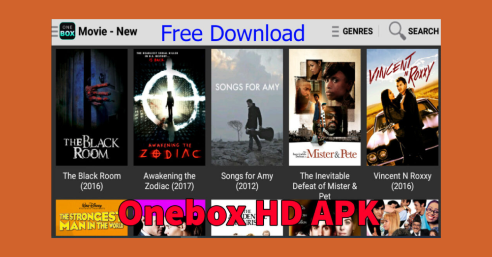 Onebox HD APK Latest Version 1.0.1 Free Download For Android